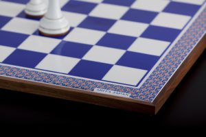 チェス盤青